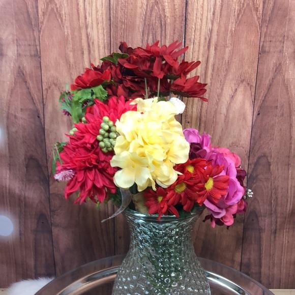 Bundle New Ashland Artificial Flowers Bouquets Lot